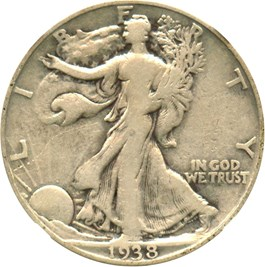 Image of 1938-D 50c NGC VG-10