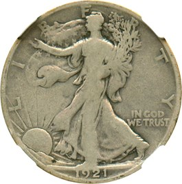 Image of 1921-D 50c NGC VG-08