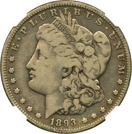 Image of 1893 $1 NGC F12