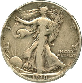 Image of 1938-D 50c NGC VF20