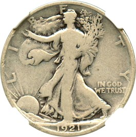 Image of 1921-D 50c NGC Good-06