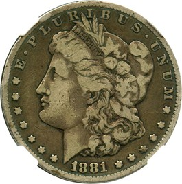 Image of 1881-CC $1 NGC F15
