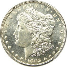 Image of 1903 $1 PCGS MS67