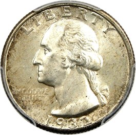 Image of 1932-D 25c PCGS/CAC MS65