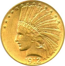 Image of 1912 $10 PCGS AU55