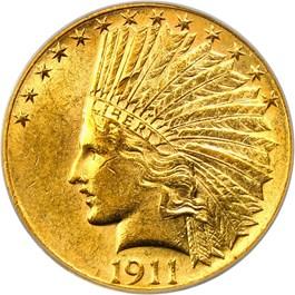 Image of 1911 $10 PCGS AU58