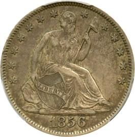 Image of 1856-O 50c PCGS/CAC XF45