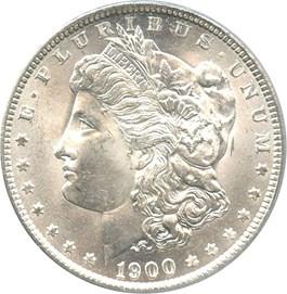 Image of 1900-O $1 PCGS MS64+