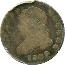 Image of 1809 10c PCGS Good-04