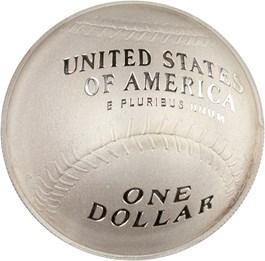 Image of 2014-P Baseball Hall of Fame $1 PCGS Proof 70 DCAM (Jim Palmer Signature) - No Reserve!