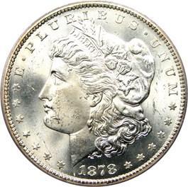 Image of 1878-CC $1 PCGS MS65