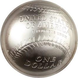 Image of 2014-P Baseball Hall of Fame $1 PCGS MS70 (Ryne Sandberg Signature) - No Reserve!
