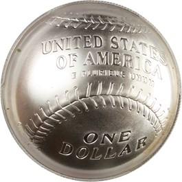 Image of 2014-P Baseball Hall of Fame $1 PCGS MS70 (Tony Perez Signature) - No Reserve!