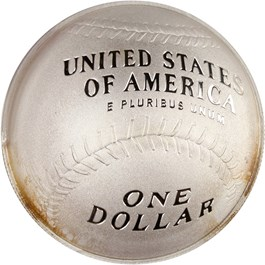 Image of 2014-P Baseball Hall of Fame $1 PCGS Proof 70 DCAM (First Strike, Andre Dawson Signature) - No Reserve!