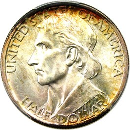Image of 1936-D Boone 50c PCGS/CAC MS67+ (Heller Collection)