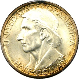 Image of 1937 Boone 50c PCGS/CAC MS67+