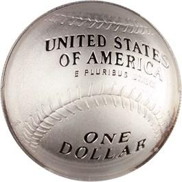 Image of 2014-P Baseball Hall of Fame $1 PCGS Proof 70 DCAM (First Strike, Cal Ripken Jr Signature) - No Reserve!