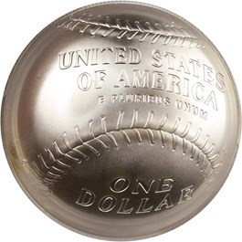 Image of 2014-P Baseball Hall of Fame $1 PCGS MS70 (Ozzie Smith Signature) - No Reserve!