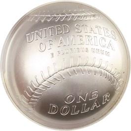 Image of 2014-P Baseball Hall of Fame $1 PCGS MS70 (Darryl Strawberry Signature) - No Reserve!
