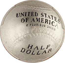 Image of 2014-S Baseball Hall of Fame 50c PCGS Proof 70 DCAM (Ryne Sandberg Autograph) - No Reserve!