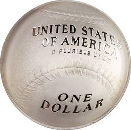Image of 2014-P Baseball Hall of Fame $1 PCGS Proof 70 DCAM (Darryl Strawberry Signature) - No Reserve!