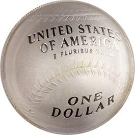Image of 2014-P Baseball Hall of Fame $1 PCGS Proof 70 DCAM (Brooks Robinson Signature) - No Reserve!