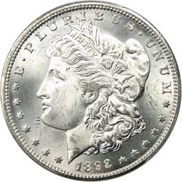Image of 1892-CC $1 PCGS MS65