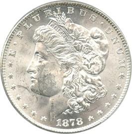 Image of 1878 8TF $1 PCGS/CAC MS62