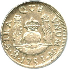 Image of Mexico: 1751-Mo, M Silver Real ANACS XF45 (KM-76.1) .0966oz Silver