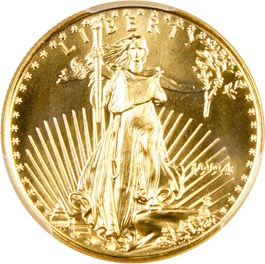 Image of 1994 Gold Eagle $25 PCGS MS69
