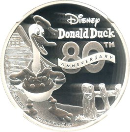 Image of Niue: 2014 Donald Duck $2 NGC PF69 UCAM (Early Releases)