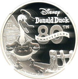 Image of Niue: 2014 Donald Duck $2 NGC PF70 UCAM (Early Releases)