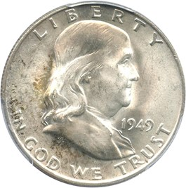 Image of 1949-D 50c PCGS MS64 FBL