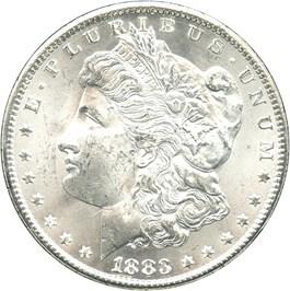 Image of 1883-CC $1 NGC/GSA MS64 (with Government Box and COA)