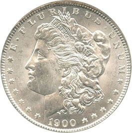 Image of 1900-O $1 NGC MS64
