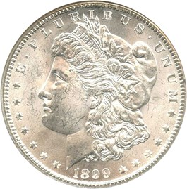 Image of 1899-O $1 NGC MS64