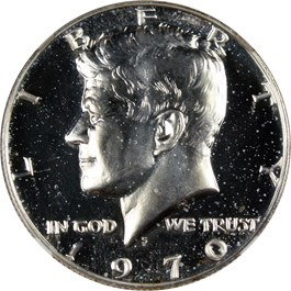 Image of 1970-S 50c NGC Proof 67 (Double Die Obverse, FS-101)