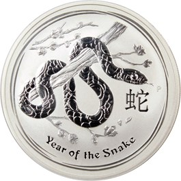 Image of Australia: 2013-P Year of the Snake $1 NGC MS70 (KM-1827) .9990oz Silver