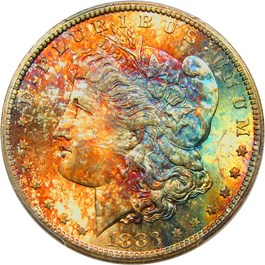 Image of 1883-CC $1 PCGS MS66