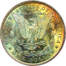 Image of 1884-O $1 PCGS MS65