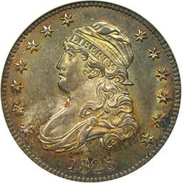 Image of 1828 25c NGC MS65