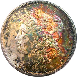 Image of 1879-S $1 PCGS/CAC MS66