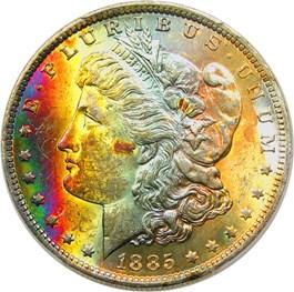Image of 1885-O $1 PCGS MS63