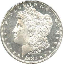 Image of 1883 $1 PCGS MS65 DMPL