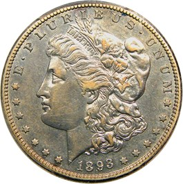 Image of 1893-S $1 PCGS XF45