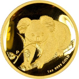 Image of Australia: 2010-P $100 PCGS PR69 DCAM (High Relief Gold Koala) - 1 oz of Gold
