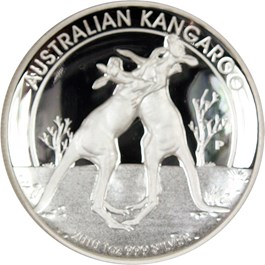 Image of Australia: 2010-P Silver Kangaroo High Relief NGC PR69 UCAM .9990oz Silver