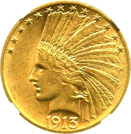 Image of 1913 $10 NGC AU58 - No Reserve!