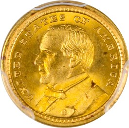 Image of 1903 McKinley G$1 PCGS/CAC MS65