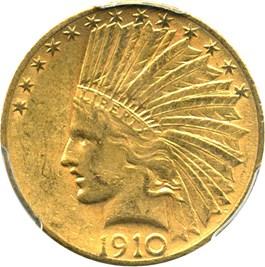 Image of 1910-S $10 PCGS AU55
